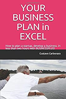 YOUR BUSINESS PLAN in EXCEL: How to plan a startup, develop a business, in less than two hours with BUSINESSPLUS!