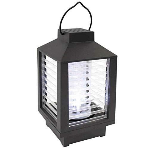 Lamp Zapper - Farol portátil inalámbrico con LED para atrapar y Trampa de Insectos, Color Blanco