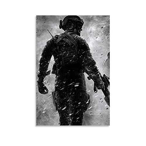 JHDSA Póster de Call of Duty Black Ops 3 para pared, póster de pared, decoración del hogar, sala de regalo, baño estético interesante 20 x 30 cm