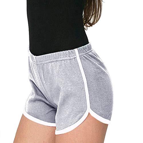 Dihope, yoga-shorts, dames, bermuda, sport, shotrs, zomer, casual, elastisch, korte broek, ademend, voor gym, fitness, hardlopen, joggen