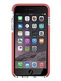 tech21 evo mesh sport per iphone 6 plus, trasparente/rosa