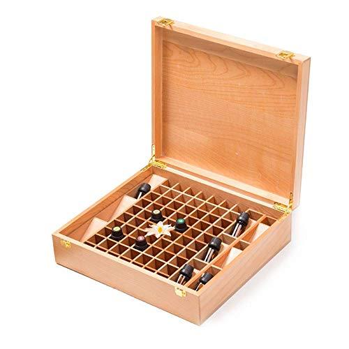 WUYUESUN Hechos a Mano de Madera Aceites Esenciales Caja de Almacenamiento aceites Esenciales Caso posee el 70 Aceites Botella