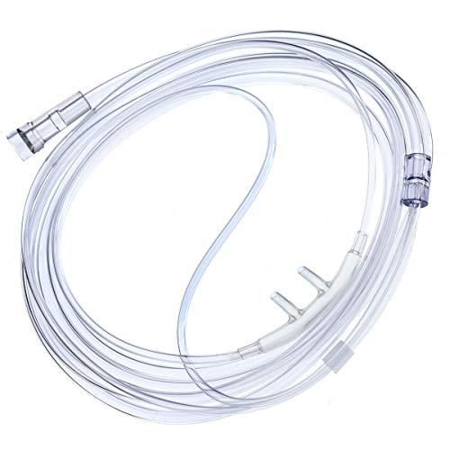 5-Pack Westmed #0194 Adult Cannula Comfort Soft Plus with 4  Kink Resistant Tubing