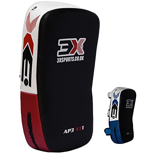 3X Professional Choice Für Das Training Von Curved Kickboxing Tritt Schlag Schild Coaching Kickboxen Krav MAGA MMA Kampfkunst(1 Stück Als Einzeln Verkauft)