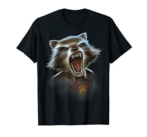 Marvel Guardians of the Galaxy Rocket Face Closeup T-Shirt