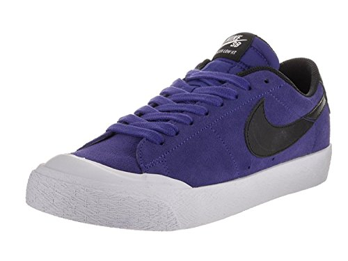 Nike SB Blazer Low XT Skateboard Shoe (10, Deep Night/Black/White)