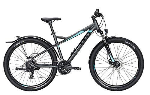 Bulls Zarena Street 2 Trekking-Bike grau - Damen Fahrrad 27,5 Zoll - 24 Gang Kettenschaltung