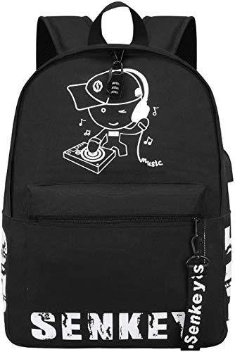 Sac à Dos Anime Luminous Travel Bag Sports Bag Fashion Student Cartable Boy Girl Backpack