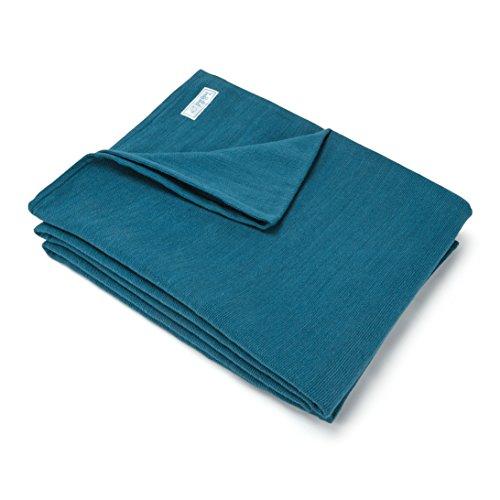 Blue Dove Yoga Meditation Blanket (Dark Blue)