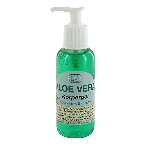 Aloe Vera Körpergel mit Vitamin A, E Komplex, 200 ml