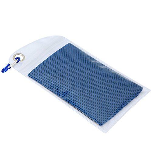 Libertepe Kühlung Microfaser Handtuch saugfähig Eishandtuch Sport Handtücher für Outdoor Fitness Reise Yoga Golf Schwimm Camping Wandern