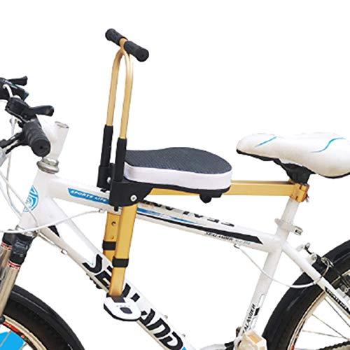 Plegable Asiento Infantil Para Bicicleta,Asiento Delantero De Seguridad Para Niños, black