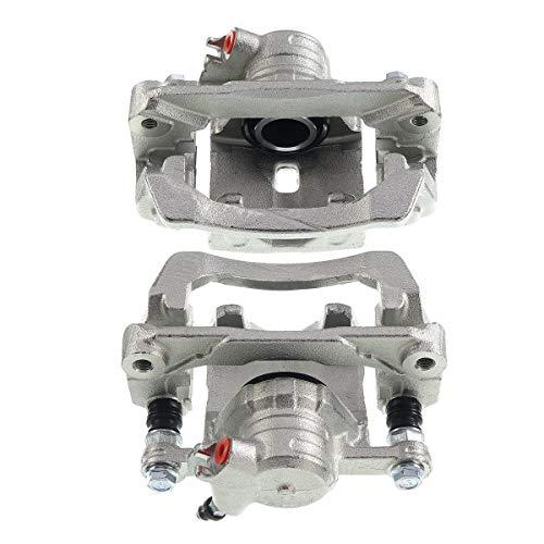 Set of 2 Rear Brake Caliper Assembly Compatible with Subaru Forester 2009-2013 WRX 2012-2018 Impreza 2008-2014