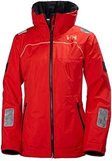 Helly Hansen Womens HP Foil Waterproof Lined Performance Jacket, Alert Red, Medium