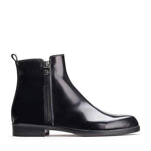 AGL Leder-Boots 40 schwarz