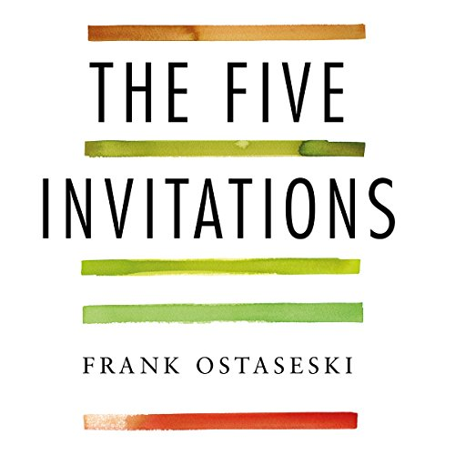 The Five Invitations audiobook cover art