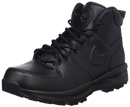 NIKE Manoa Leather, Walking Shoe Hombre, Negro (Black 454350/003), 42 EU
