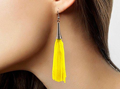 Creative Boucles d'oreilles Haute qualité - Vert Fluo