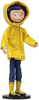 NECA Coraline 7 inches Ben Di fashion doll Coraline raincoat ver.