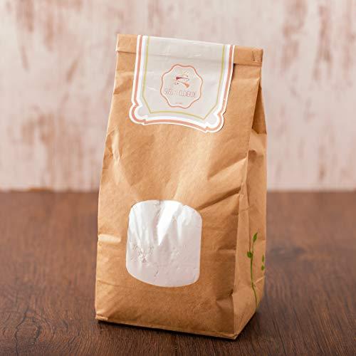 süssundclever.de® Bio Puderzucker | aus Rohrzucker | 1 kg | plastikfrei und ökologisch-nachhaltig abgepackt