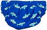Playshoes Baby – Jungen Schwimmbekleidung 460120 Badewindel, Badehose, Schwimmwindel Hai von Playshoes mit höchstem UV-Schutz nach Standard 801 und Oeko-Tex Standard 100, Gr. 62/68, Blau (original) - 2