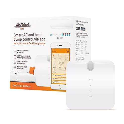 AirPatrol WiFi | Smart Klimaanlage Regler für Split Klimaanlage | iOS und Android kompatibel | kompatibel mit IFTTT, Amazon Alexa und Google Home