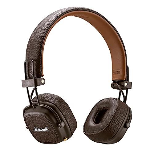 Marshall Major III auricolare per telefono cellulare Stereofonico Padiglione auricolare Marrone