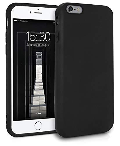 MyGadget Cover per Apple iPhone 6   6s - Custodia Protettiva in Silicone Morbido – Case TPU Ultra Flessibile - Protezione Antiurto & AntiGraffio - Nero