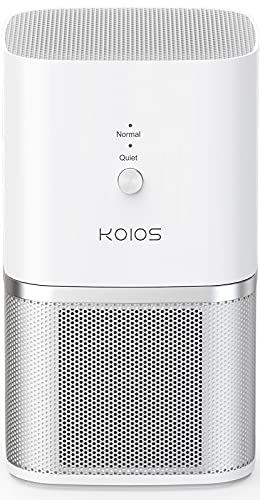 KOIOS Air Purifier, Small Air Purifiers with True HEPA Filter, Air Cleaner Bedroom Home Office,...