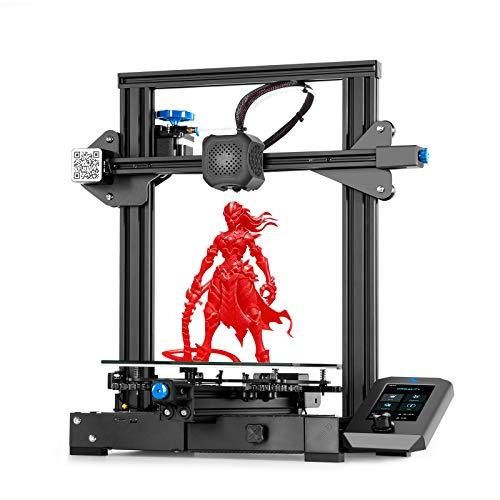 Stampante 3D Creality Ender 3 V2, Stampante FDM 3D con Scheda Madre Silenziosa, Nuova...