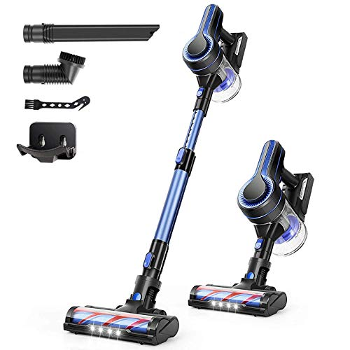 APOSEN Cordless Vacuum Cleaner, 24KPa Powerful...