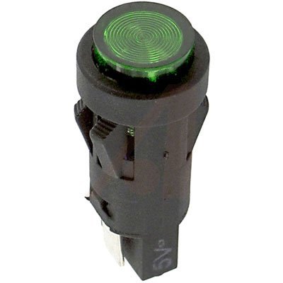 SloanLED 5002-285QC Indicator PNL-MNT Max 54% OFF LED Ranking TOP20 1-3 28V 0.5In. T Green