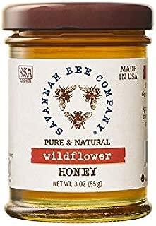 WILDFLOWER HONEY - 3 Ounce Sampler Jar by Savannah Bee Company