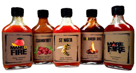 Suicide Sauces Box 5 x 200ml