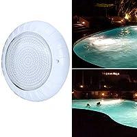 リモートコントロールの明るさRGBプールライト、LED水中ライト、低消費電力AC12V35W養魚池プール噴水用ロッカリー