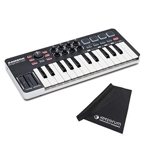 Samson Graphite M25 - Mando para teclado USB (incluye gamuza...