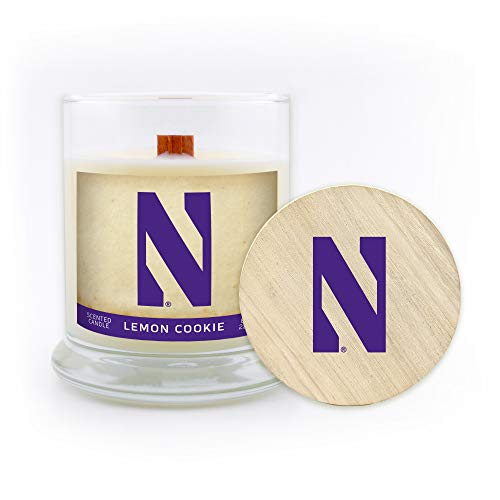 5.8-Ounce Citrus Scent Worthy Promo NCAA Nebraska Cornhuskers Travel Tin Candle with Wood Wick Gray