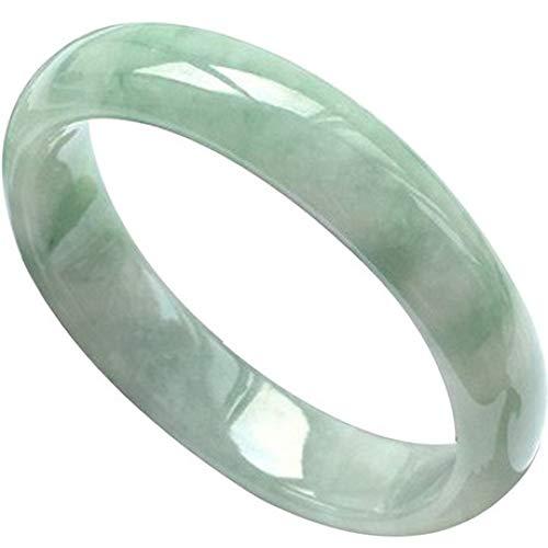 Aligeya Jade Armband natürliche Jade hell grün Jade Armband schwimmende Blumen