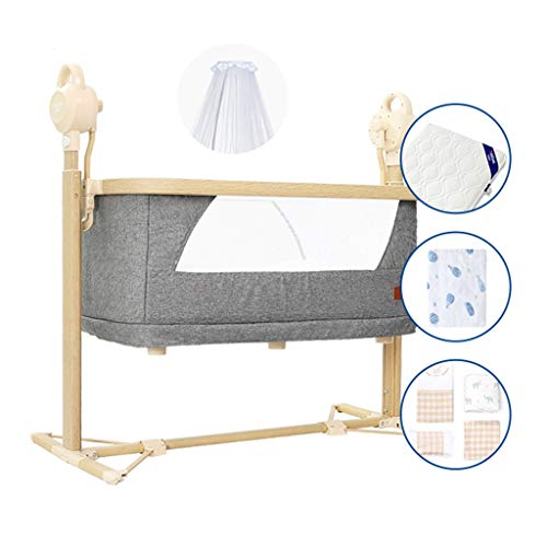 Lowest Price! Rocking Chair Newborn Comfort Cradle Bed Intelligent Music Remoter Control Sleeping Ba...