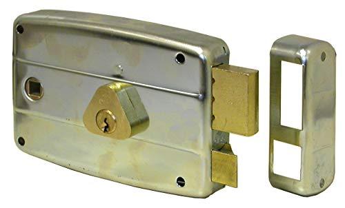 Serrure CISA 50571à installer au portail, entrée droite 8-60mm