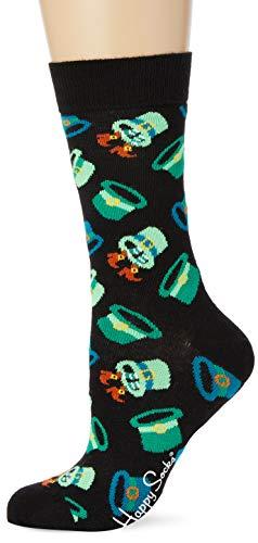 Happy Socks St Patricks Socks Gift Set 2-Pack farbenfrohe & verspielte Geschenkboxen für Männer & Frauen, Premium-Baumwollsocken, 2-Paare,Größe 36-40