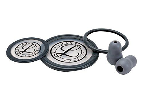 3M Littmann 40004 Stethoskop Ersatzteil-Set, Cardiology III, Grau
