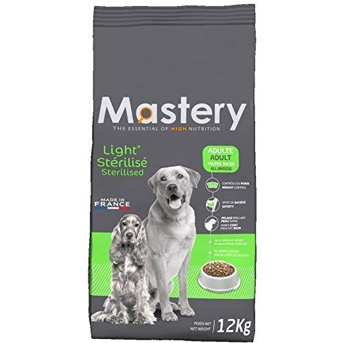 Mastery Nourriture Adulte Light, Croquettes pour Chiens Adultes - 12 kg