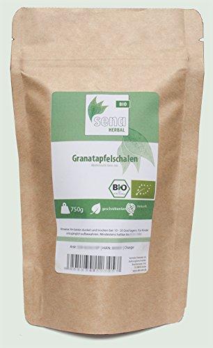 SENA-Herbal Bio - geschnittene Granatapfelschalen- (750g)