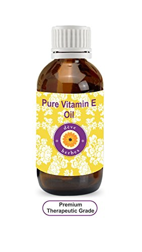 Deve Herbes Pure Vitamin E Oil 15ml 100% Natural Therapeutic Grade (0.507oz)