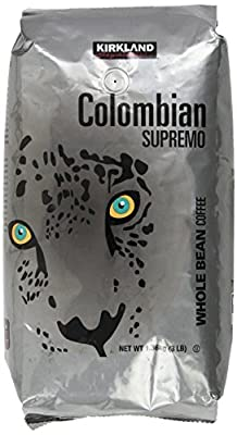 Kirkland Signature Colombian Supremo Whole Bean Coffee from Kirkland Signature
