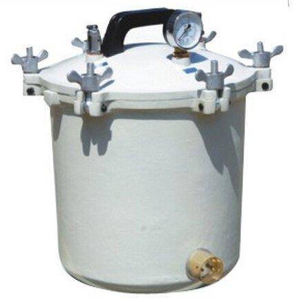 Tipo de aluminio portátil GOWE presión vapor esterilizador 18L Capacidad: 18L