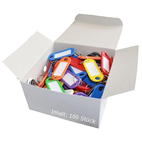 Wedo 262 - Llavero identificador de plástico (100 unidades