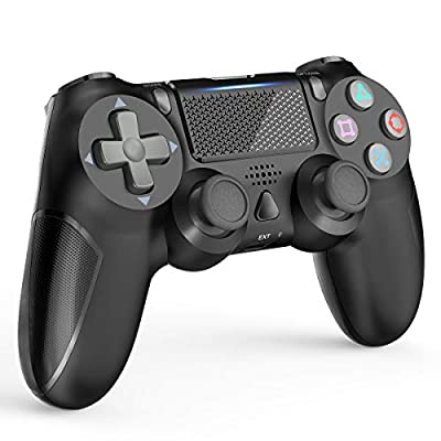 Controller for PS4, YCCTEAM Wireless Game Controller Compatible with Playstation 4 with Built-in 1000mAh Rechargeable Battery, Gyro and Speaker Compatible with PS4/Slim/Pro Console
