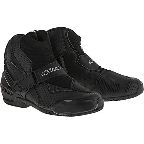 Alpinestars Men's SMX-1 R Vented Street Motorcycle Boot, Black, 44